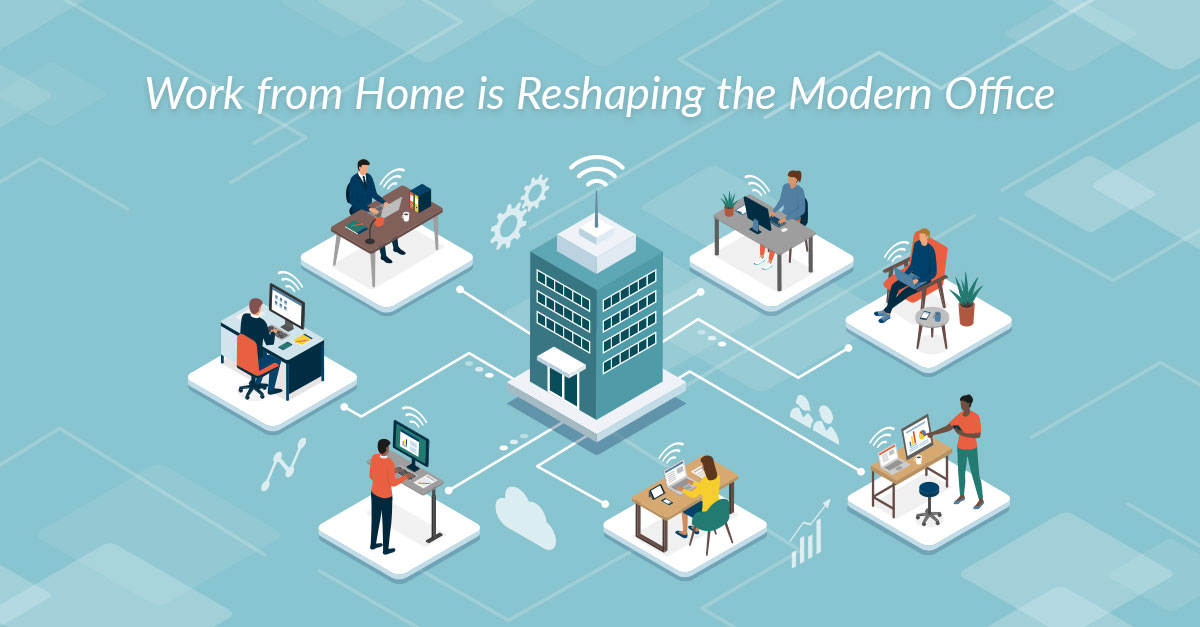 Work from Home is Reshaping the Modern Office